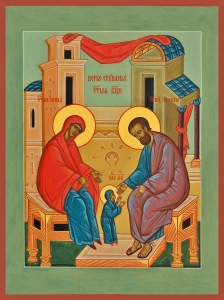 first steps of the mother of god