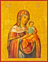 ICON - OUR LADY OF THE DOVES