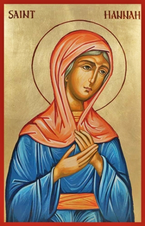 st hannah the prophetess copy