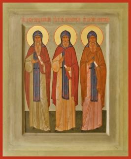 St. David of Gareji job poc and arsenius konevsky