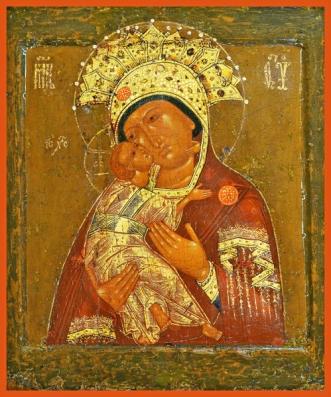 vladimirskaya mother of God crown