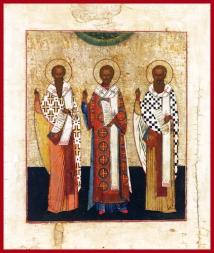 basil gregory john three heirarchs