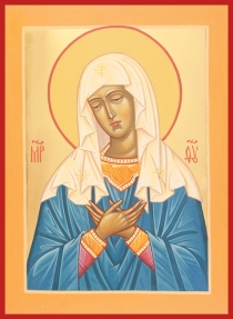 mother of god from st seraphim must add copy14""