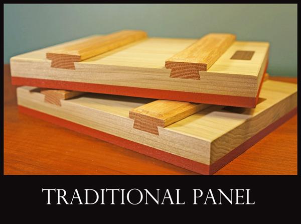 aa traditional panel side