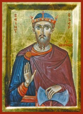 Olaf king of norway