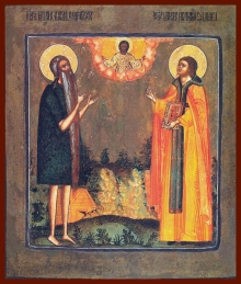 paul of thebes and john the hut-dweller
